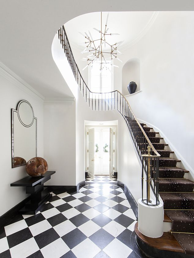 Entryway Foyer via lucyandcompany