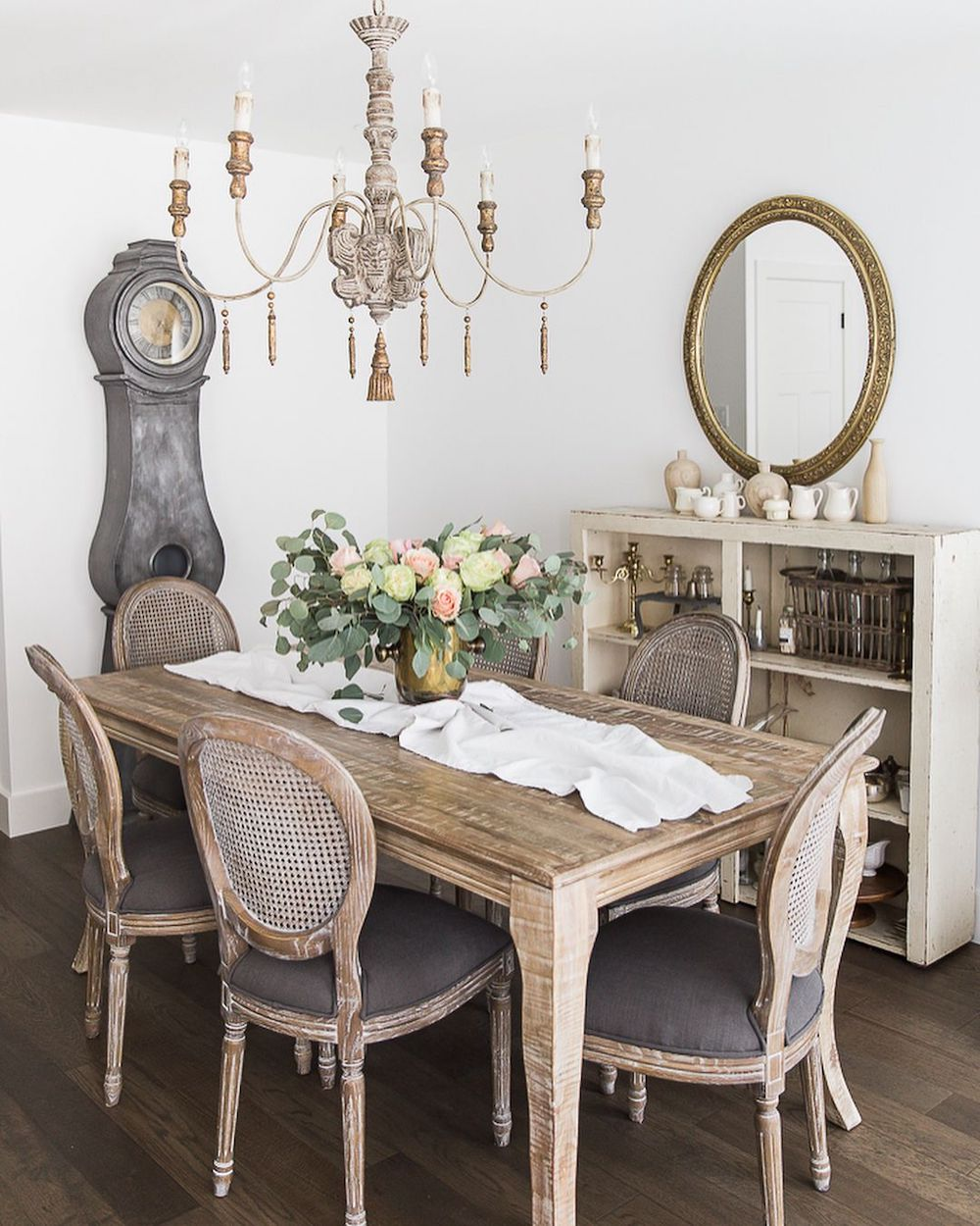 French Country Dining Room @somuchbetterwithage