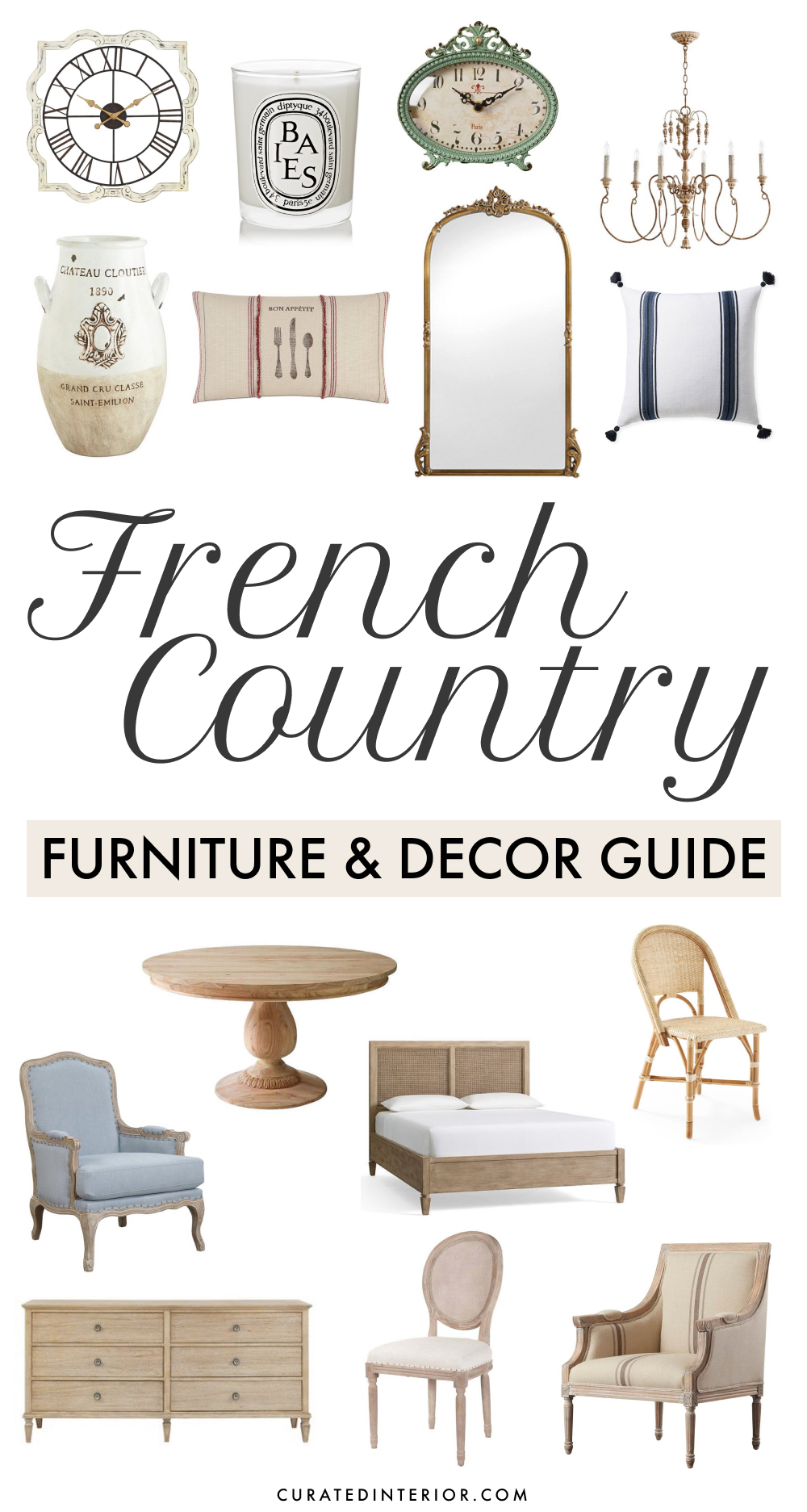 French Country Furniture and Decor Guide