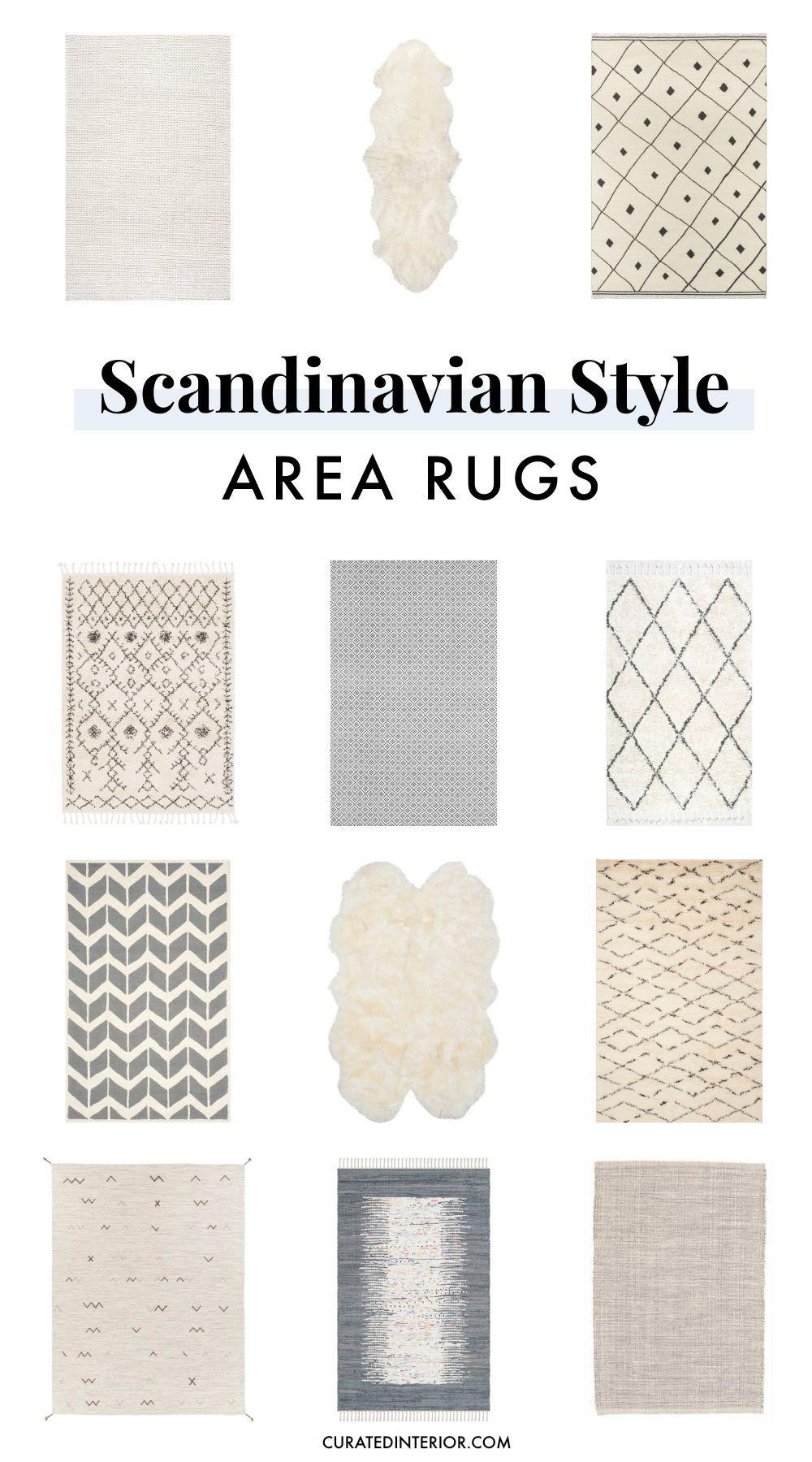 Scandinavian Style Area Rugs