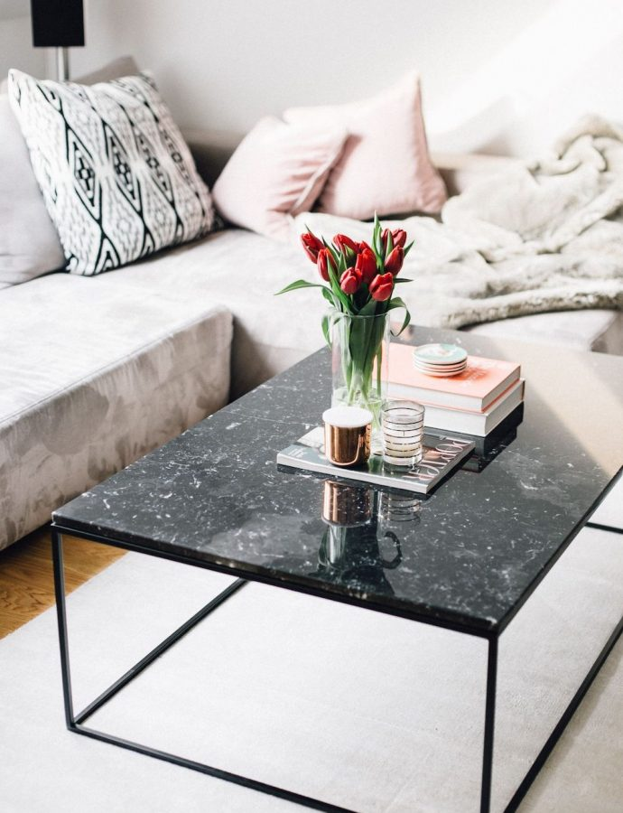 12 Black Marble Coffee Tables