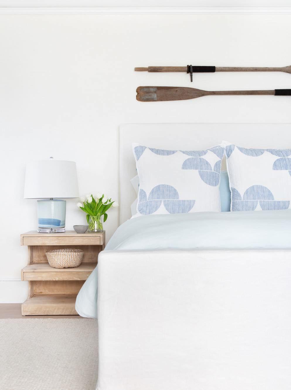 Coastal bedroom @changoandco