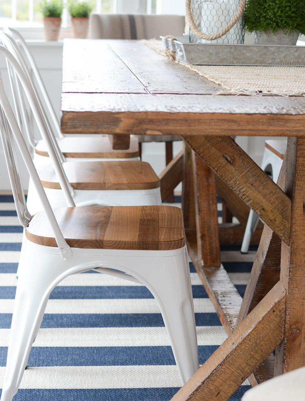 12 Coastal Dining Chairs for a Nautical Home