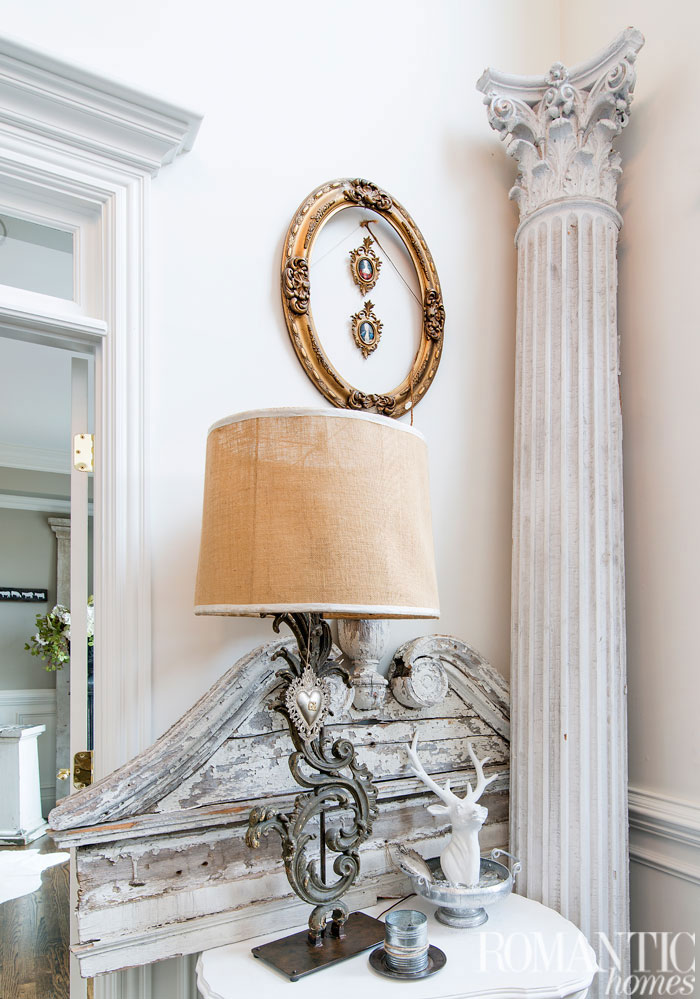 French Country Table Lamps via Romantic Homes