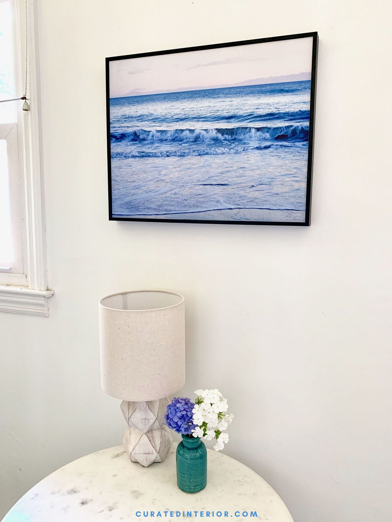 Breakfast Nook with Coastal Decor Accents from Walmart