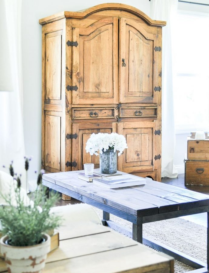 10 Farmhouse Armoires with Rustic Charm to Shop
