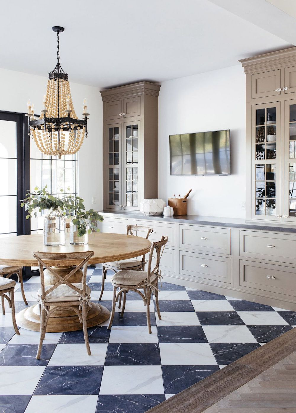 French Country Dining Room via thelifestyledco