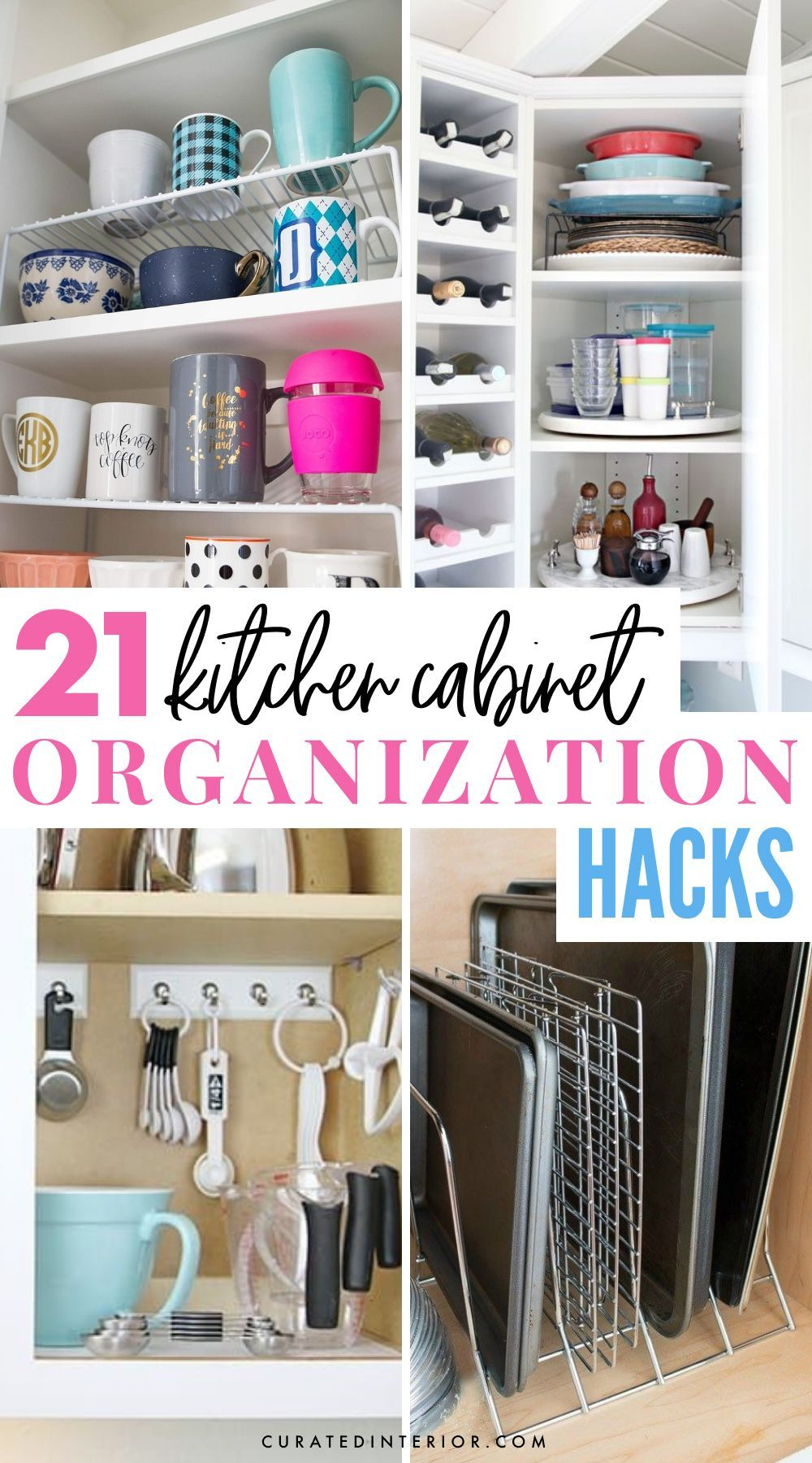 Top Kitchen Cabinet Organization Hacks