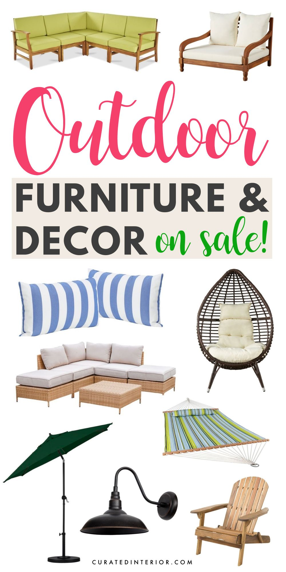 15 Pieces of Outdoor Furniture and Decor to Snag ON SALE