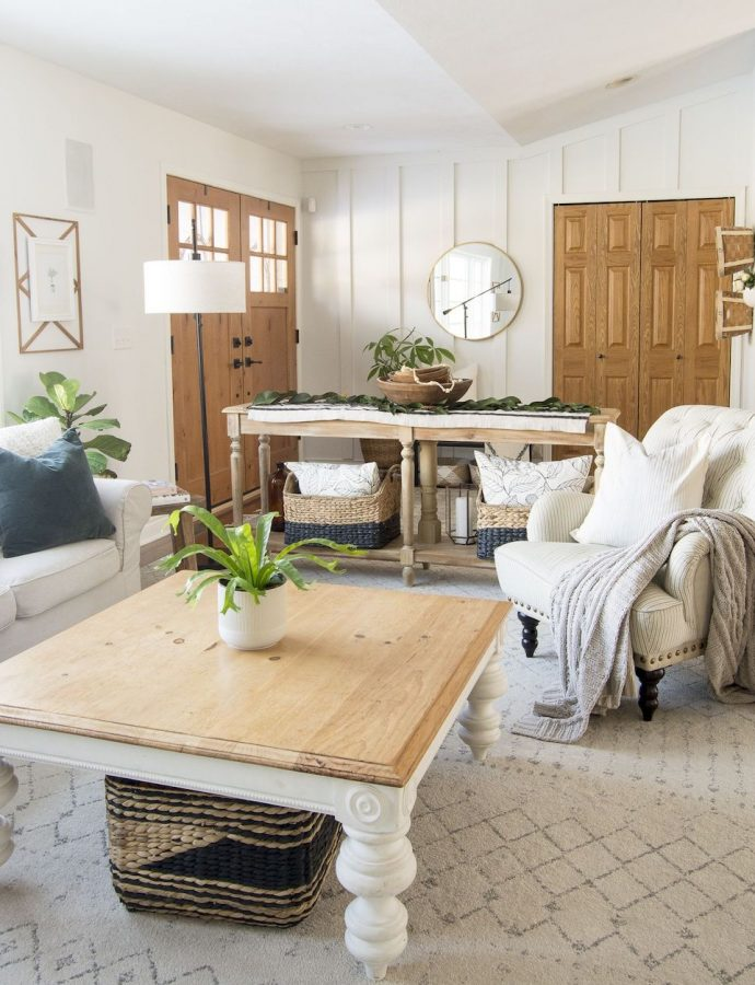 15 Affordable Farmhouse Coffee Tables Under $400