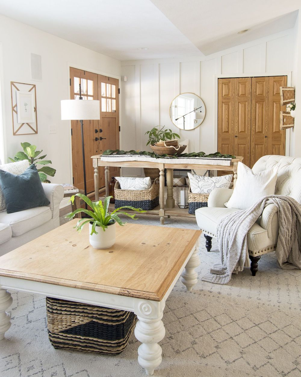 15 Affordable Farmhouse Coffee Tables Under 400