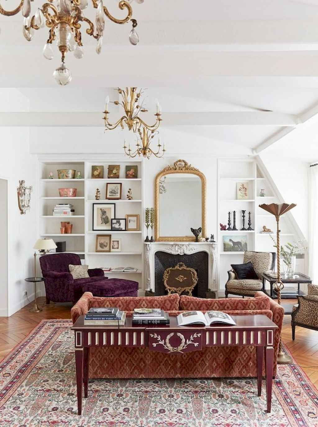 Excellent 59 Parisian Living Rooms To Make You Swoon Creativecarmelina Interior Chair Design Creativecarmelinacom