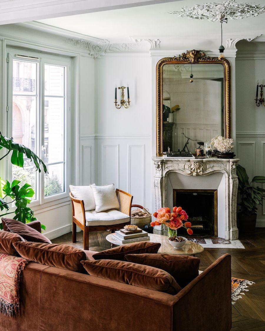 59 parisian living rooms to make you swoon
