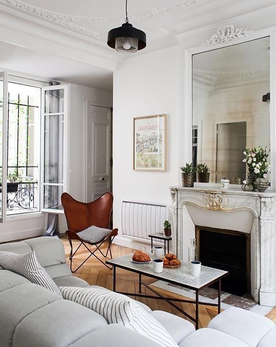 59 Parisian Living Rooms To Make You Swoon, Paris Living Room Decor