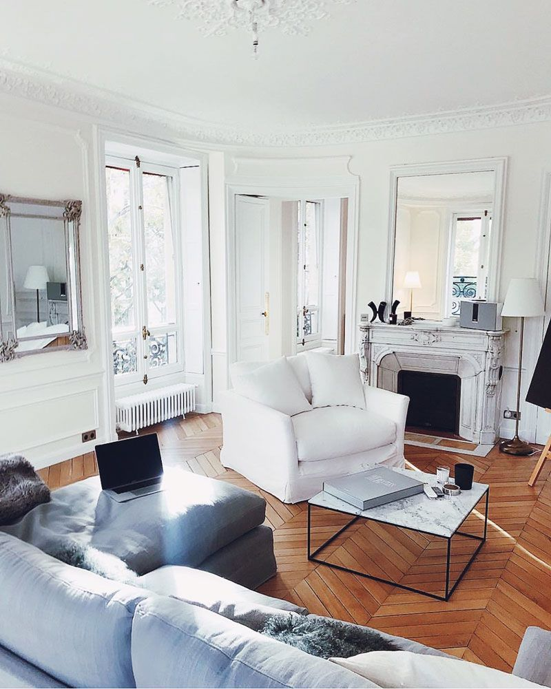 Fine 59 Parisian Living Rooms To Make You Swoon Creativecarmelina Interior Chair Design Creativecarmelinacom