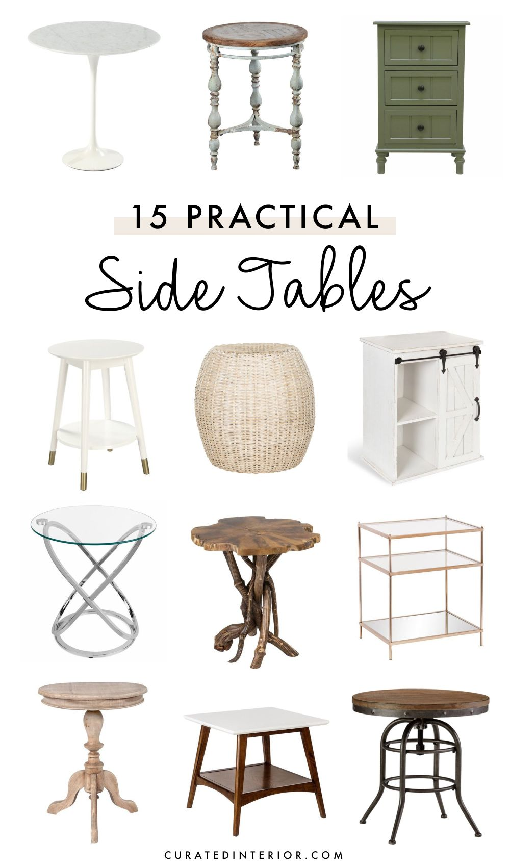 15 Practical Side Tables