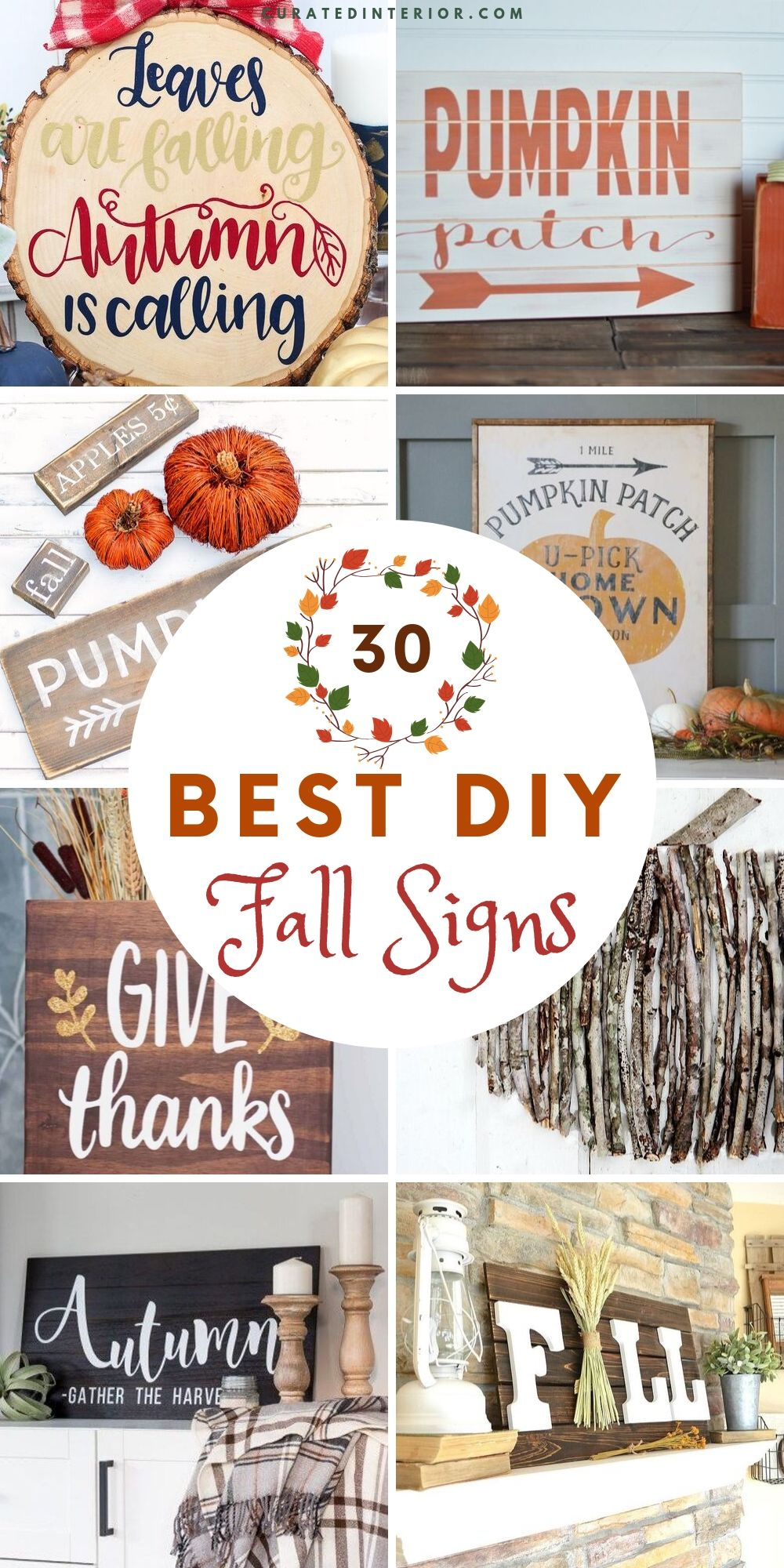 30 Best DIY Fall Signs You Can Make