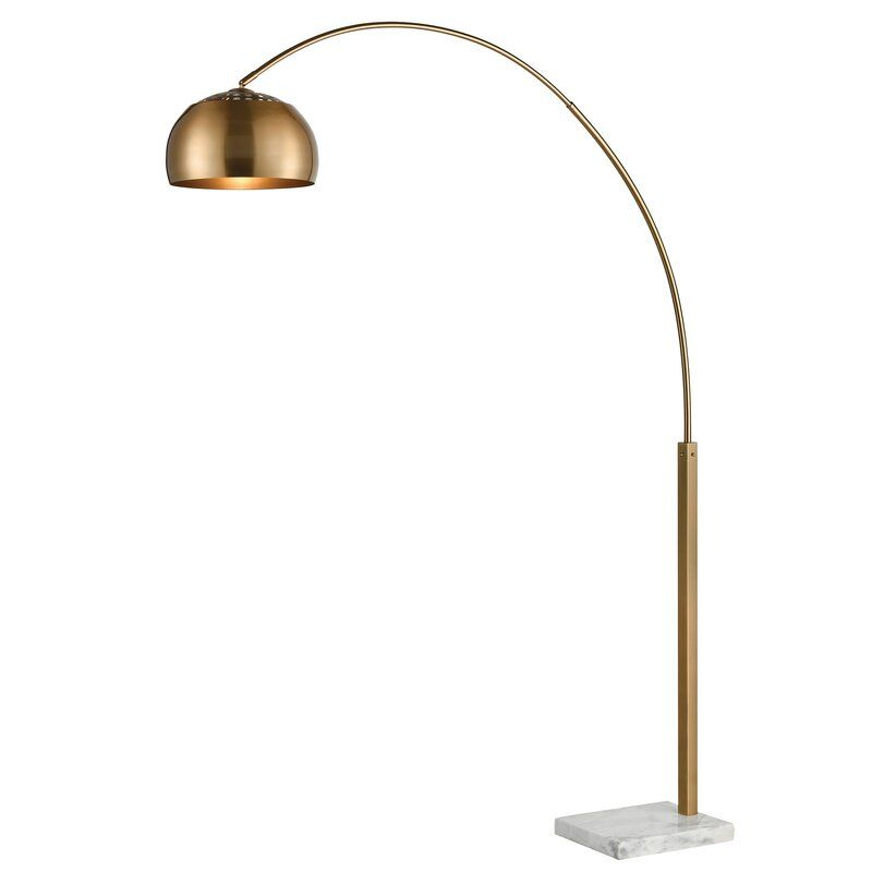 Arc Floor Lamp - 10 Types of Floor Lamps to Consider Before Buying