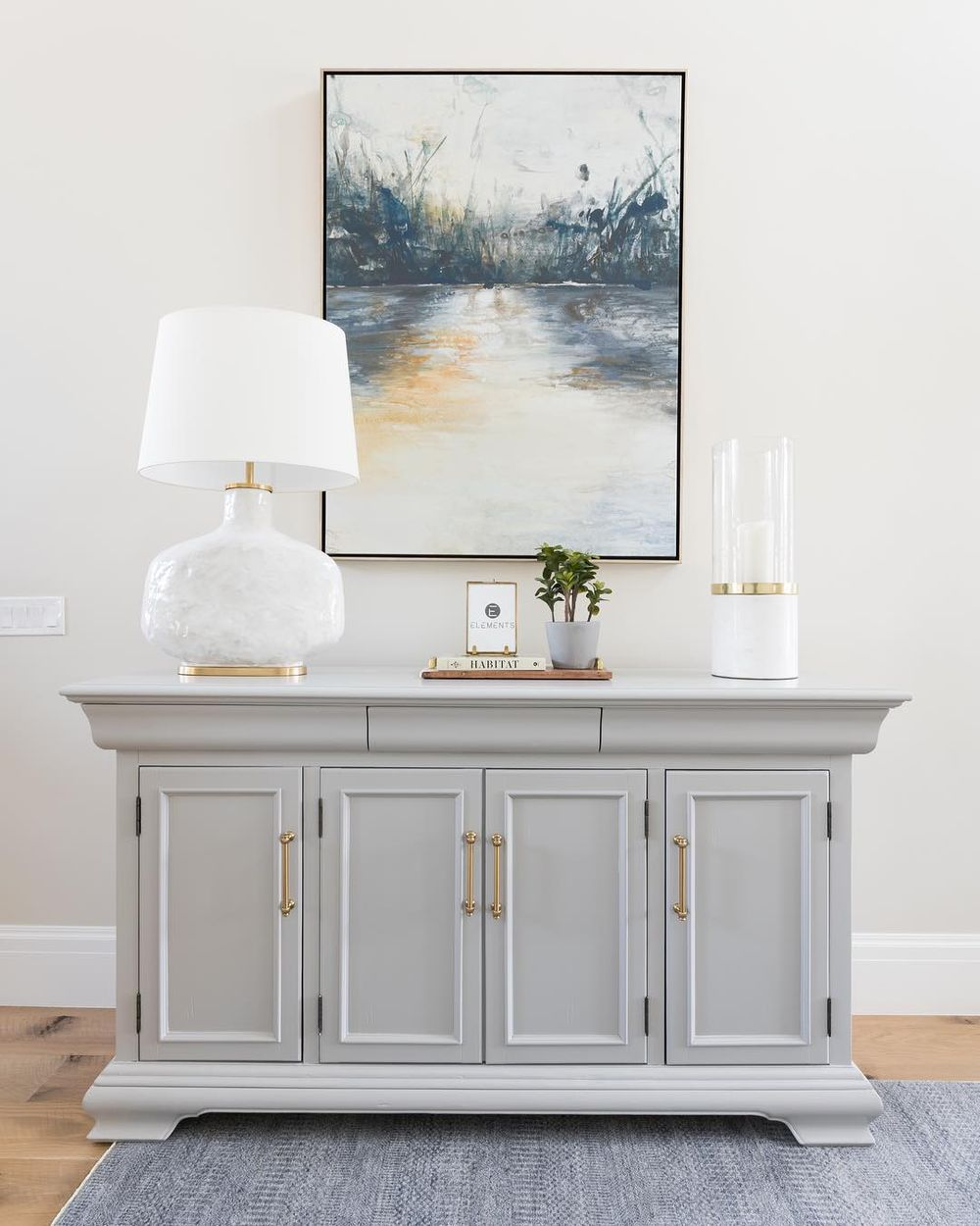 Console table by @remedy.design