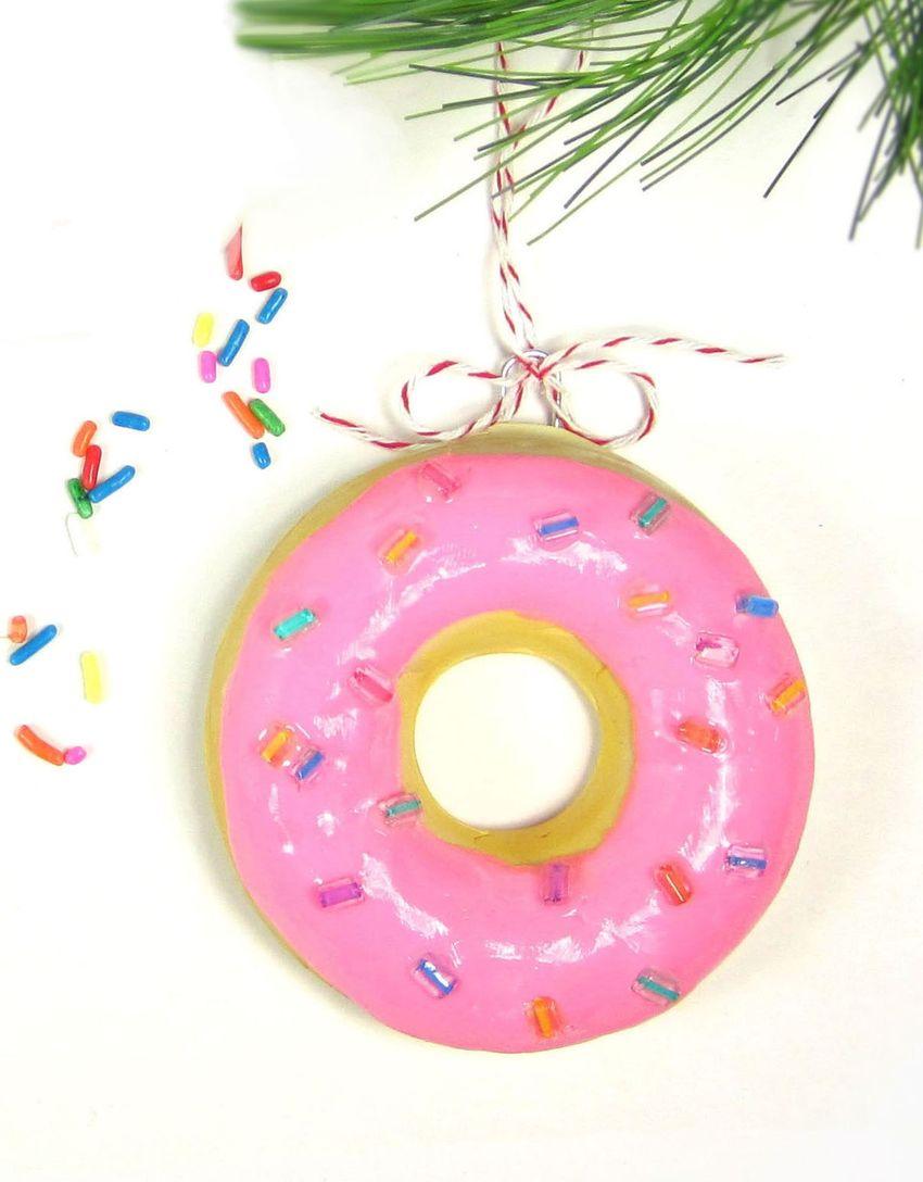 DIY Donut Ornament via 365designs