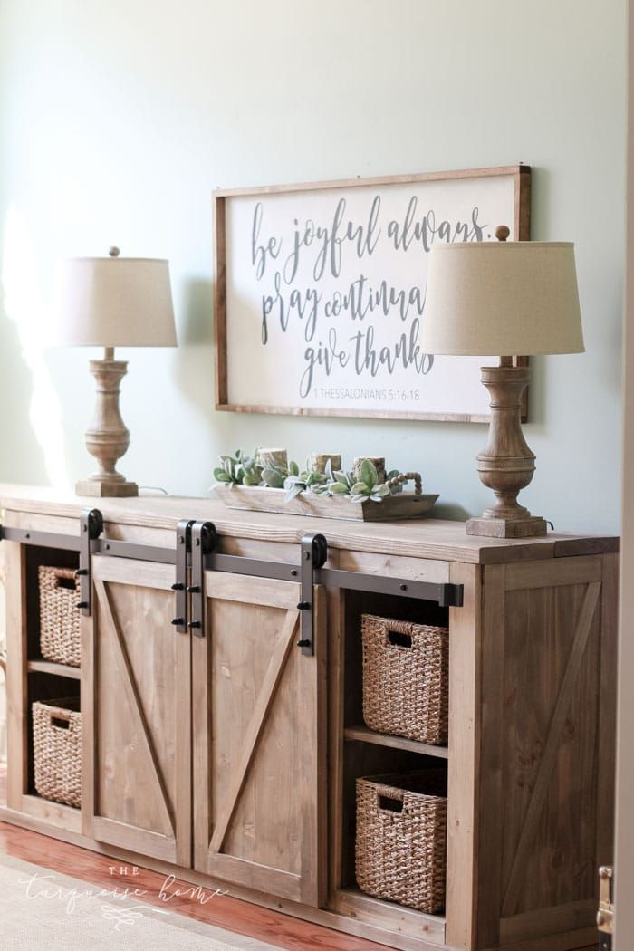 7 Best DIY Farmhouse Furniture Ideas