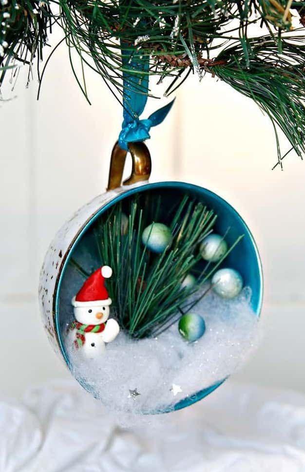 DIY Glitter Teacup ornaments via petticoatjunktion