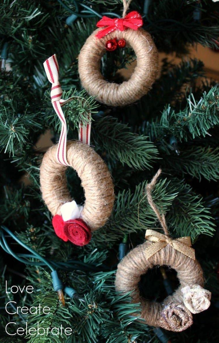 23 Diy Rustic Christmas Ornaments To Hang On Your Tree
