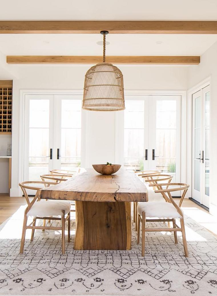 How To Pick The Right Dining Table Size And Shape