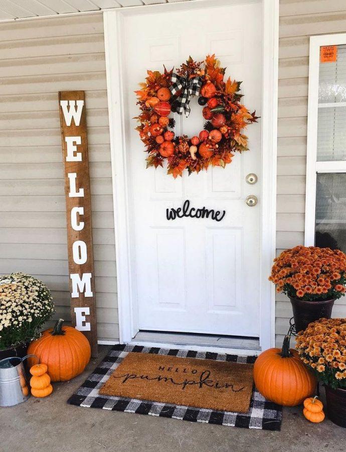 27 Fall Front Porch Decor Ideas