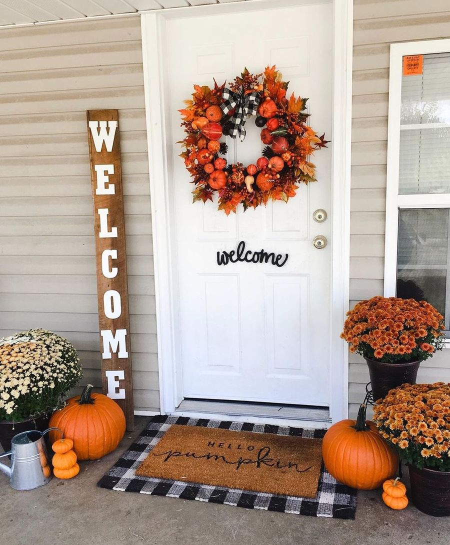 11 Fall Front Porch Decor Ideas