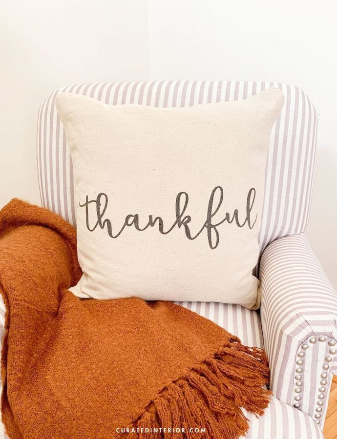 23 Thanksgiving Throw Pillows