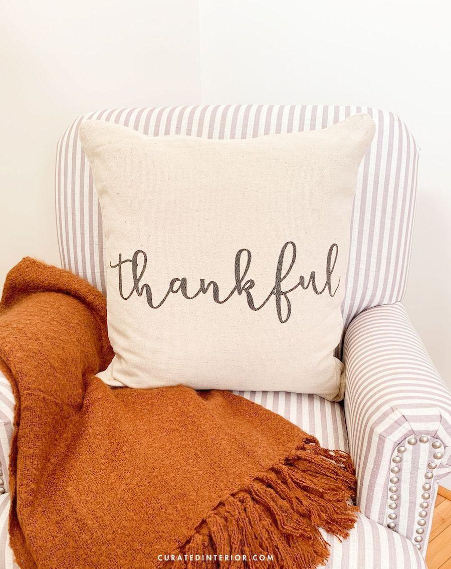 Best Thanksgiving Throw Pillows
