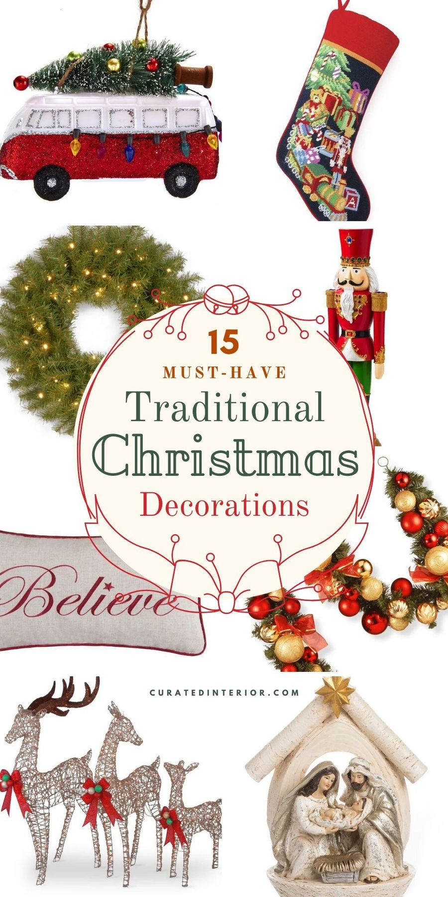 15 Must-Have Traditional Christmas Decorations