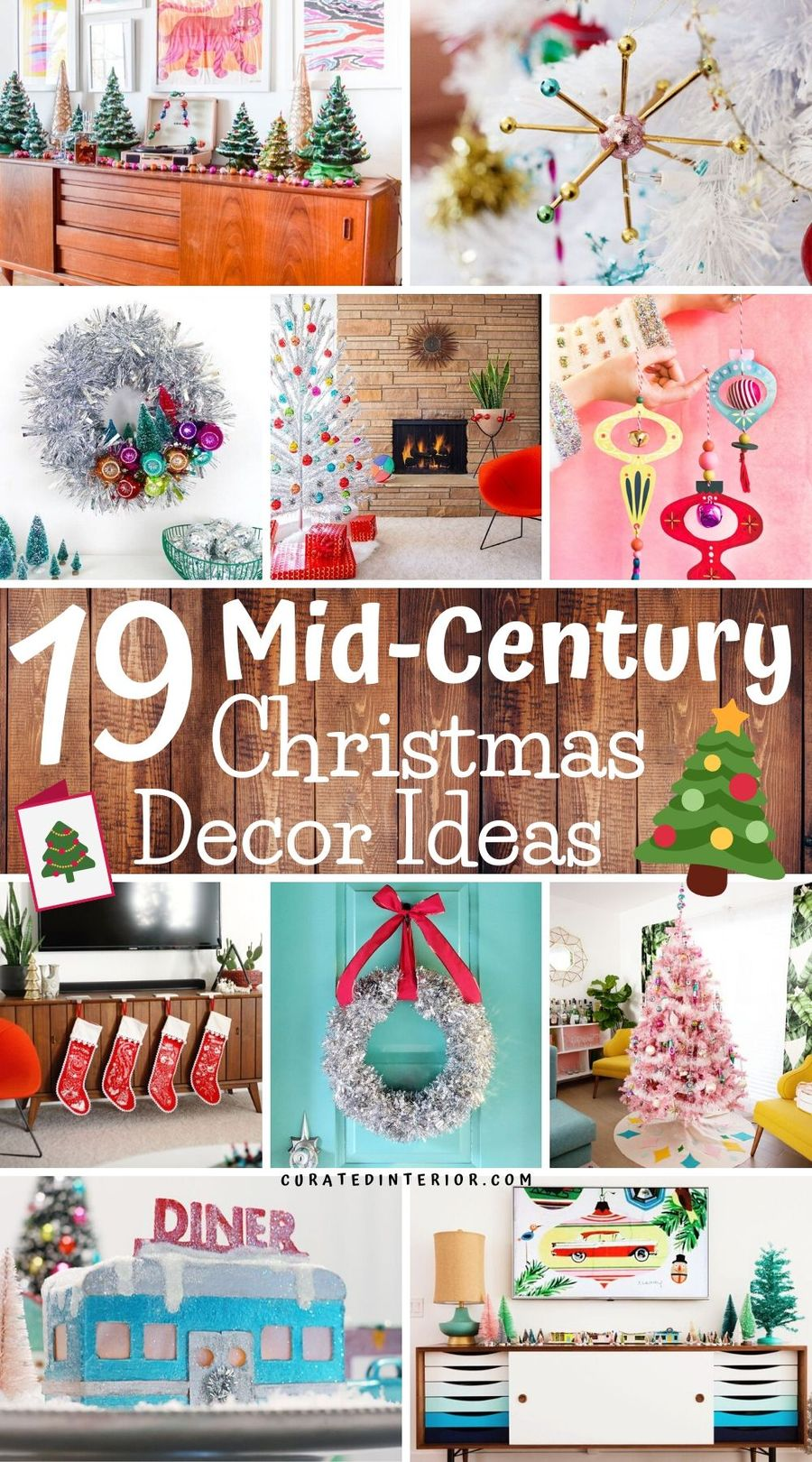 19 Mid-Century Modern Christmas Decor Ideas