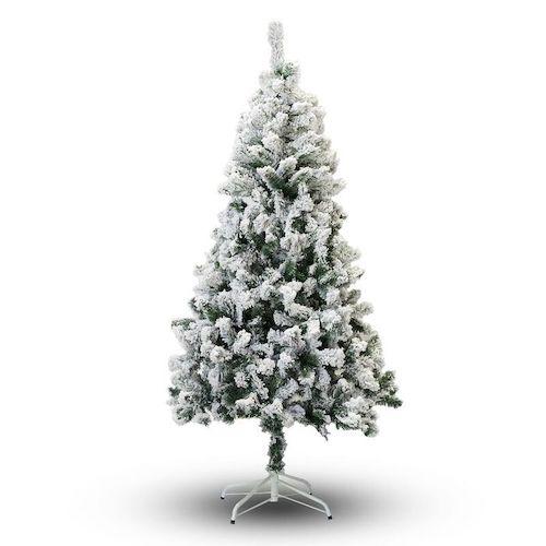 2 Foot Mini Flocked Christmas Tree