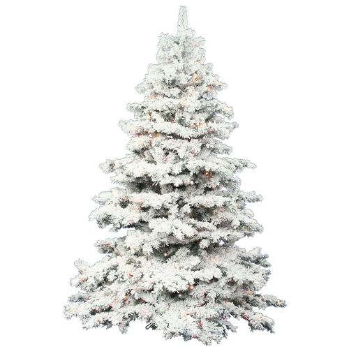4.5-foot Alaskan Pine Flocked Tree for Christmas