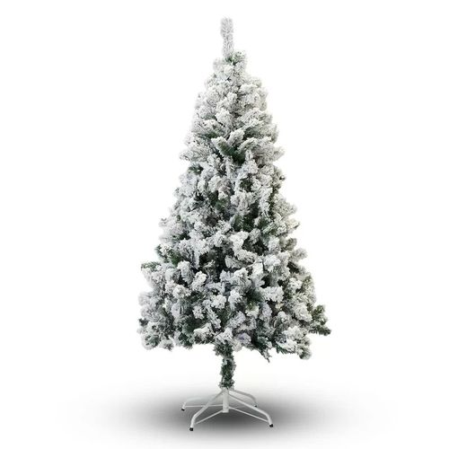 Affordable 4-Foot Flocked Christmas Tree