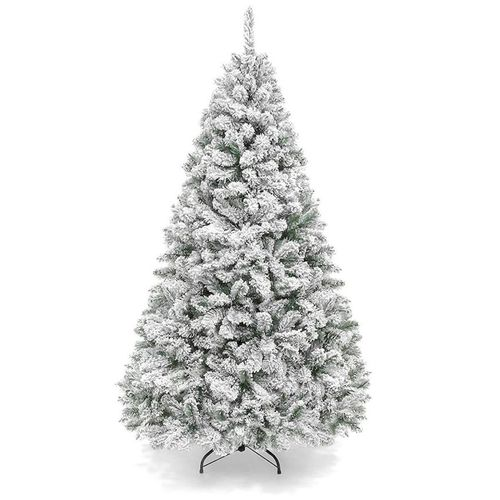 Affordable 6-Foot Snow Flocked Christmas Tree