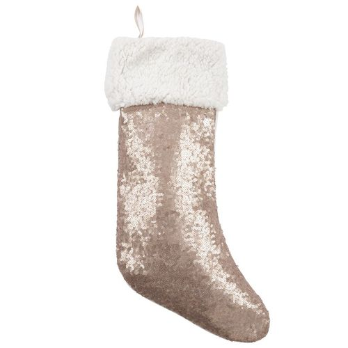 Champagne Sequin Stocking