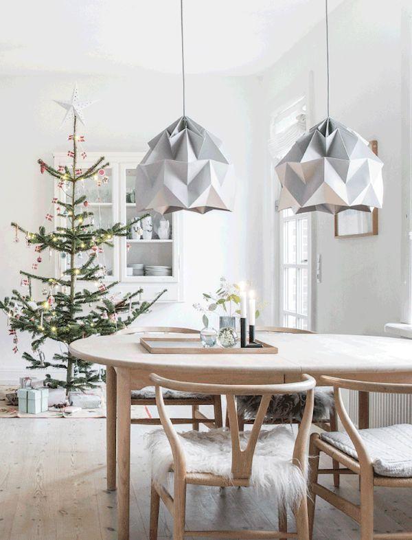 Christmas Dining Room via Lisbeth Assenholt