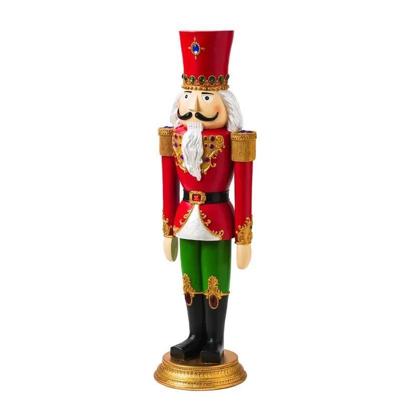 Traditional Christmas Decorations - Entryway Nutcracker