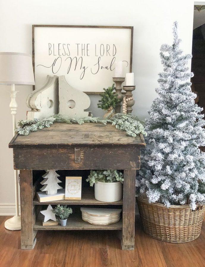 50 Festive Farmhouse Christmas Decorations for the Home
