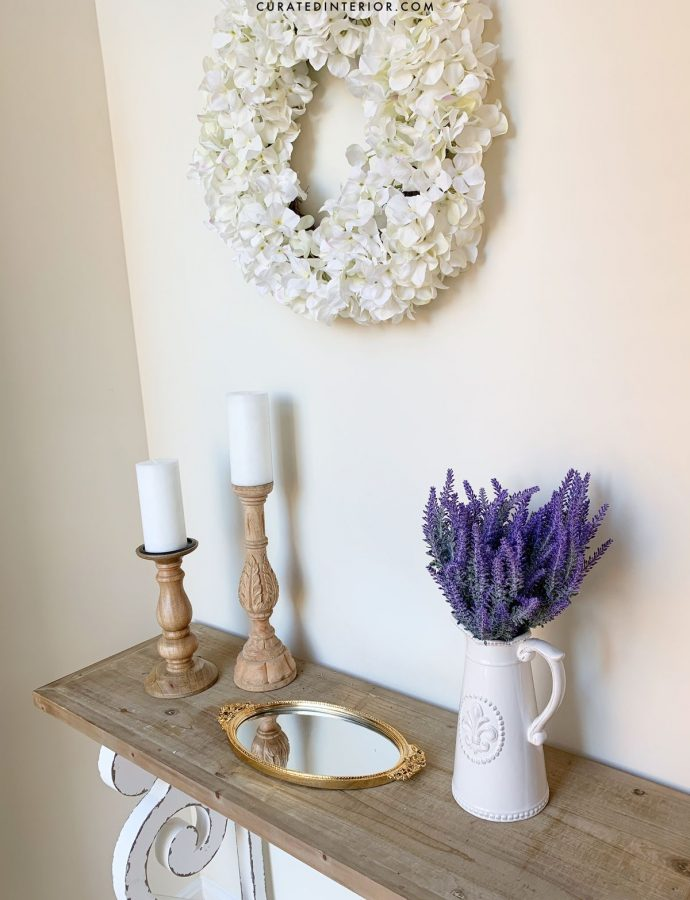 French Country Entryway Design