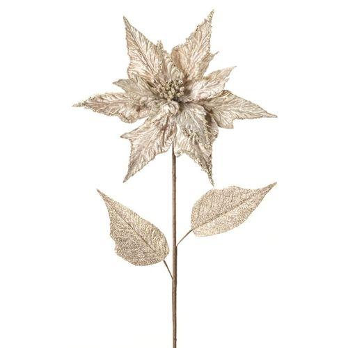 Gold Poinsettia Stem