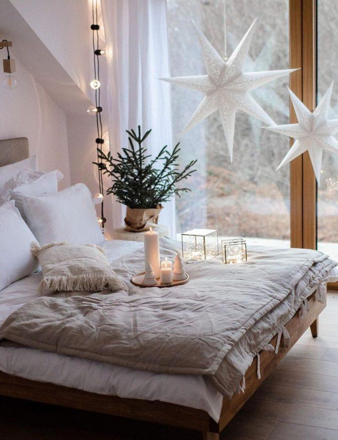 10 Scandinavian Christmas Bedroom Decor Ideas