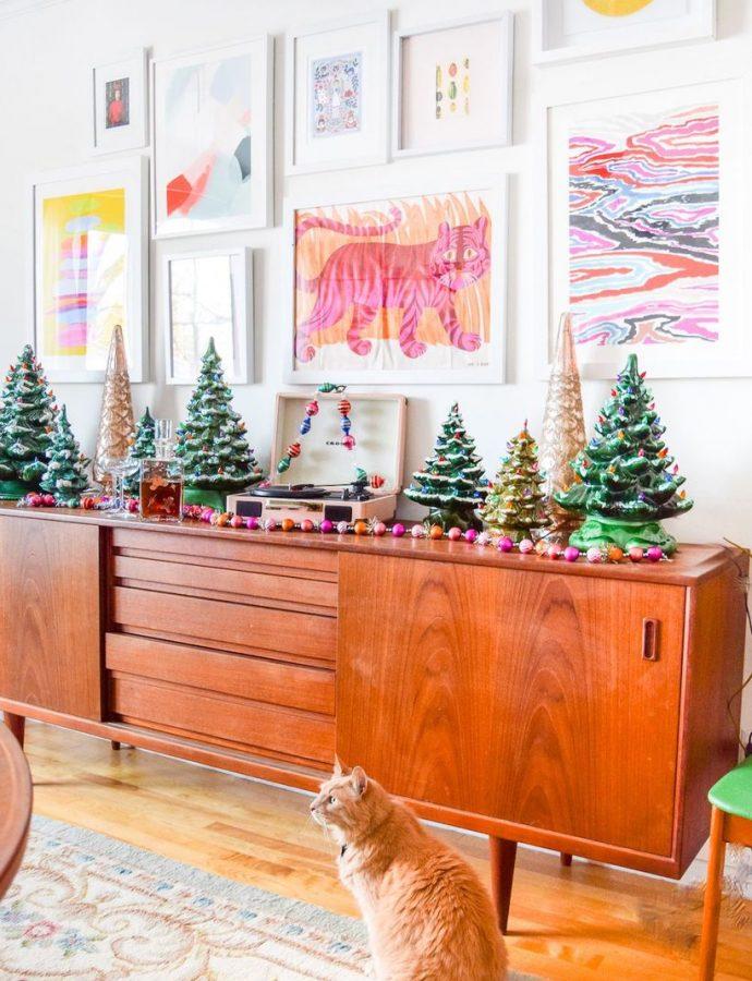 19 Mid-Century Modern Christmas Decor Ideas