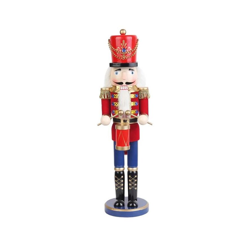 Traditional Christmas Decorations - Mini Nutcracker Drummer Soldier