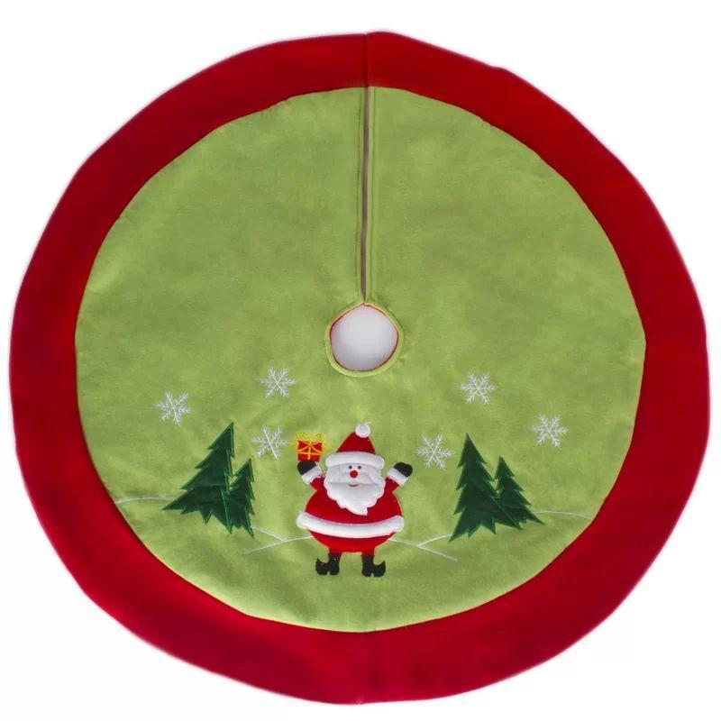 Santa Clause Christmas Tree Skirt