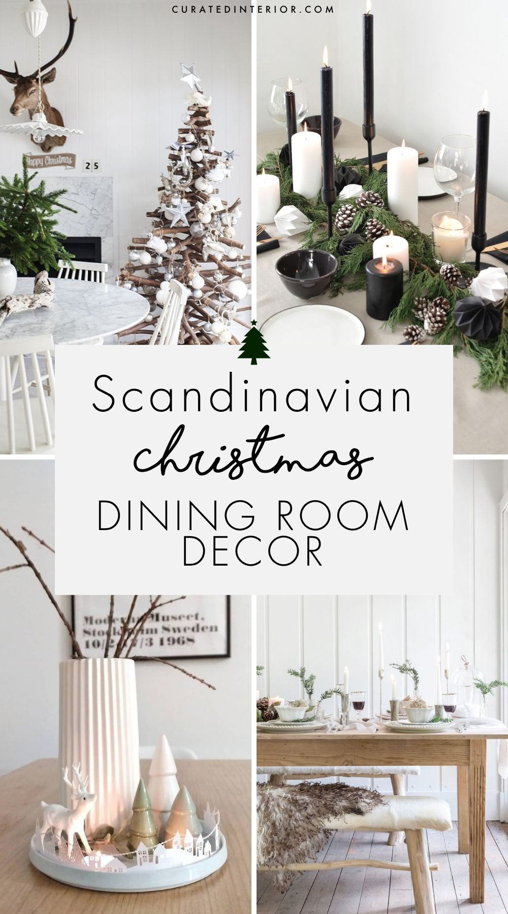 25 Scandinavian Christmas Dining Room Decor Ideas