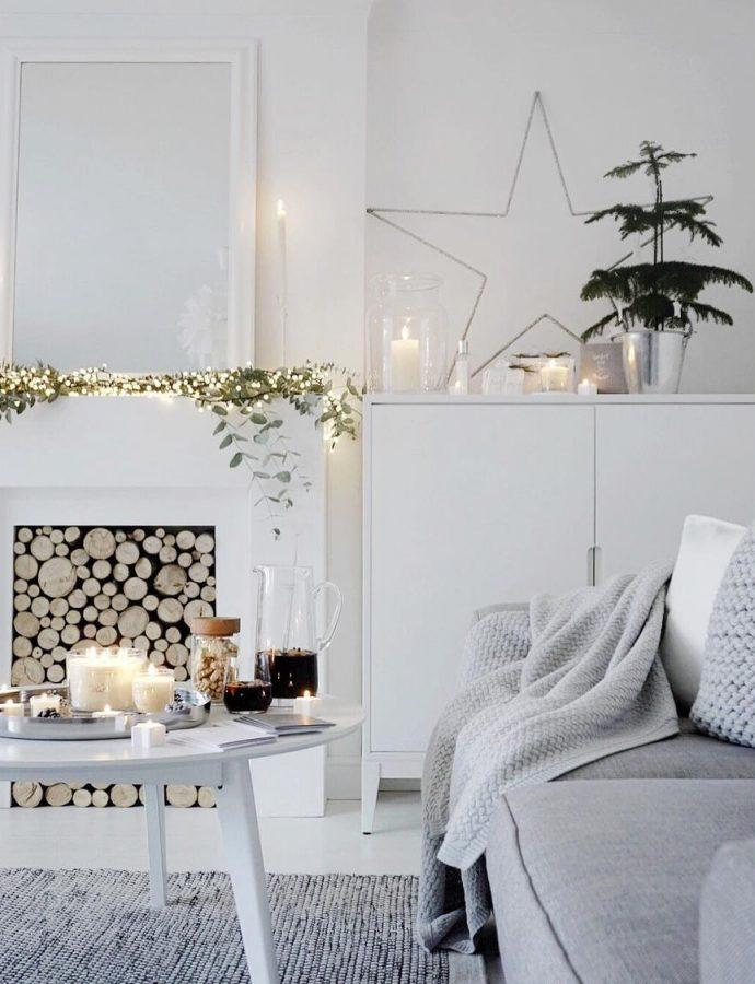 25 Scandinavian Christmas Living Room Decor Ideas